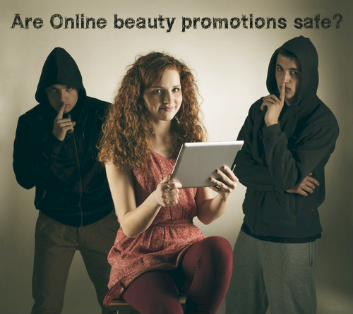 Are Online Beauty Promotions Safe
